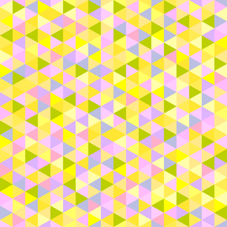 Seamless triangle pattern. Abstract geometric wallpaper of the surface. Cute background. Pretty colors. Print for polygraphy, posters, t-shirts and textiles. Beautiful texture. Doodle for design Stock Vector - 107703122