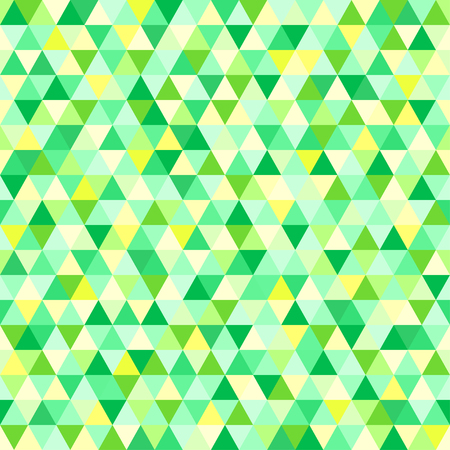 Seamless triangle pattern. Pretty colors. Abstract geometric wallpaper of the surface. Cute background. Print for polygraphy, posters, t-shirts and textiles. Beautiful texture. Doodle for design Stock Vector - 108026417