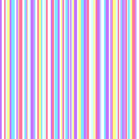 Striped multicolored background. Linear texture. Seamless vertical pattern. Abstract geometric wallpaper of the surface. Print for polygraphy, t-shirts and textiles. Doodle for design. Art creation Ilustração