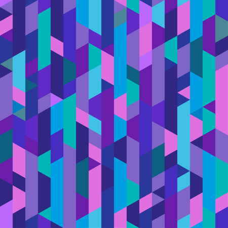 Polygonal pattern. Abstract geometric wallpaper of the surface. Seamless cute background. Pretty colors. Print for polygraphy, posters, t-shirts and textiles. Beautiful texture