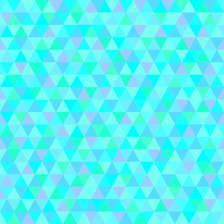 Triangle pattern. Geometric tile seamless wallpaper of the surface. Unique background. Doodle for design. Bright colors. Print for flyers, posters, t-shirts and textiles Ilustrace