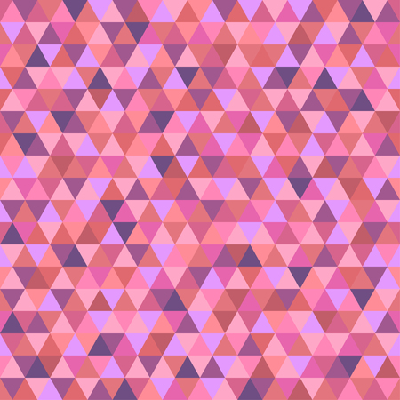 Seamless triangle pattern. Pretty colors. Abstract geometric wallpaper of the surface. Cute background. Print for polygraphy, posters, t-shirts and textiles. Beautiful texture. Doodle for design Illustration