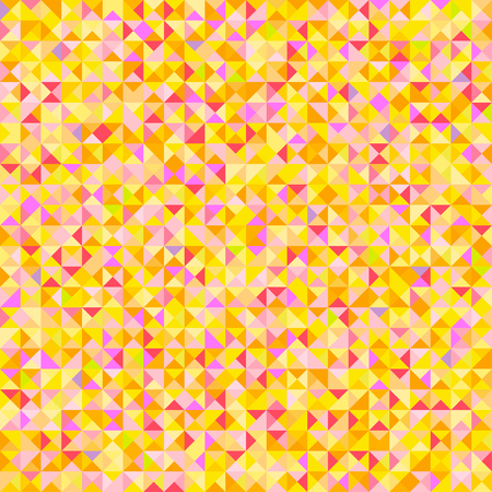 Tiled background with many triangles. Geometric bright wallpaper. Mosaic texture. Seamless pattern. Pretty colors. Print for flyers, posters, banners and textiles. Greeting cards Illustration