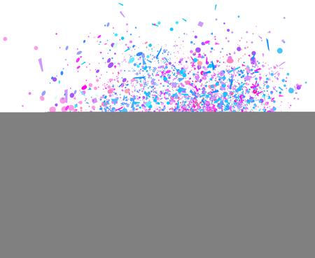 Papel tapiz de vacaciones de colores con elementos geométricos en blanco. Fondo brillante con confeti. Textura de brillos. Marco festivo. Impresión de pancartas, carteles, camisetas y textiles. Tarjetas de felicitacion