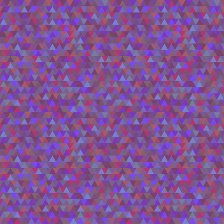 Triangle dark pattern. Multicolored tiled background. 向量圖像