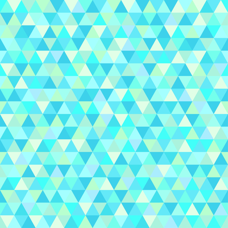 Seamless triangle pattern. Geometric wallpaper of the surface. Unique background. Doodle for design. Bright colors. Print for flyers, posters, t-shirts and textiles. Vintage and retro style Illustration