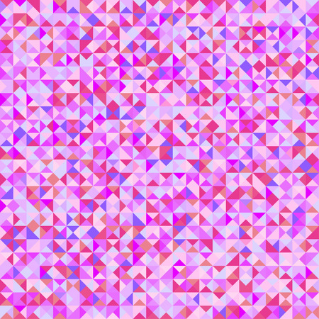 Triangle tile pattern. Geometric wallpaper of the surface. Seamless cute background. Pretty colors. Print for polygraphy, flyers, posters, t-shirts and textiles. Beautiful mosaic texture Stock Vector - 110863118
