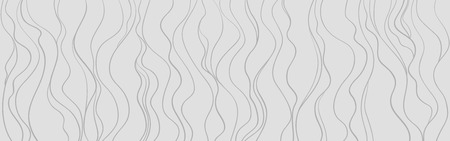 Wavy background. Hand drawn waves. Seamless wallpaper on horizontally surface. Stripe texture with many lines. Waved pattern. Illustration for banners, flyers or posters
