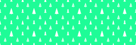 Seamless pattern with christmas trees. Abstract geometric wallpaper. Print for textiles, flyers and posters. Artwork for design