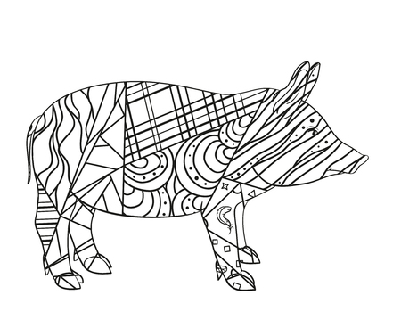 Indian Pig Stock Photos And Images