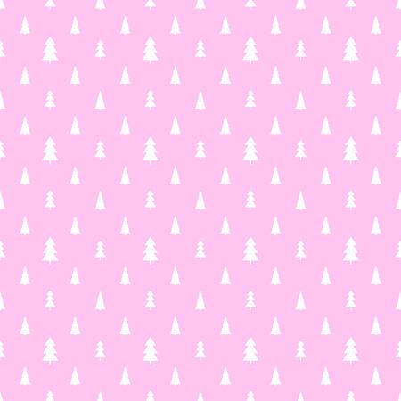 Modèle sans couture avec des arbres de Noël. Papier peint géométrique abstrait. Impression pour textiles, tissus, polygraphie, affiches. Cartes de voeux