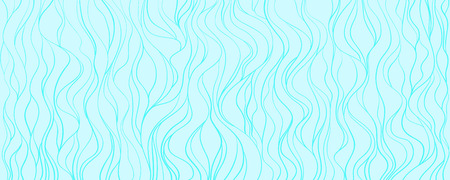 Wavy background. Hand drawn waves. Seamless wallpaper on horizontally surface. Stripe texture with many lines. Waved pattern. Colored illustration for banners, flyers or posters Illustration