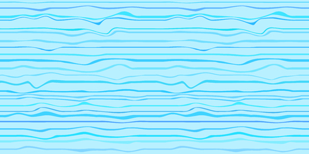 Seamless colored pattern with lines. Abstract nautical wallpaper of the surface. Wavy sea background. Multicolored texture. Decorative backdrop