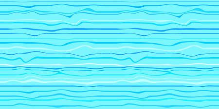 Bezszwowe tapety morskie powierzchni. Faliste morze tło. Wzór z liniami i falami. Wielobarwna tekstura. Styl dekoracyjny. Doodle do projektowania