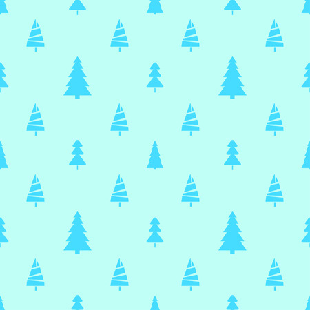 Seamless pattern with christmas trees. Abstract geometric wallpaper. Print for textiles, fabrics, polygraphy, posters. Greeting cards