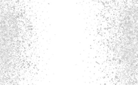 Confetti on white background. Luxury texture. Festive backdrop with glitters. Pattern for work. Print for polygraphy, posters, banners and textiles. Doodle for design and business