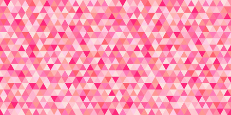 Seamless triangle pattern. Geometric wallpaper of the surface. Mosaic unique background. Doodle for design. Print for flyers, posters, t-shirts and textiles. Vintage and retro style
