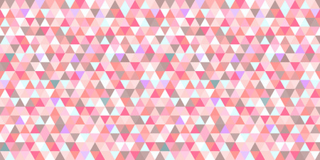 Seamless triangle pattern. Geometric wallpaper of the surface. Mosaic background. Doodle for design. Print for flyers, posters, t-shirts and textiles. Vintage and retro style Illustration