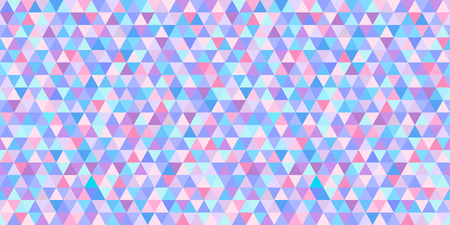 Seamless triangle pattern. Geometric wallpaper of the surface. Mosaic unique background. Doodle for design. Print for flyers, posters, t-shirts and textiles. Vintage and retro style Illustration