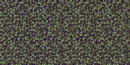 Colorful tile pattern with triangles. Seamless abstract texture. Triangle multicolored background. Geometric wallpaper with stripes. Print for flyers, banners and textiles. Doodle for design