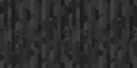 Mosaic wallpaper of the surface. Tile background. Seamless polygonal pattern. Print for polygraphy, posters, banners and textiles. Unique texture. Doodle for work. Black and white illustration