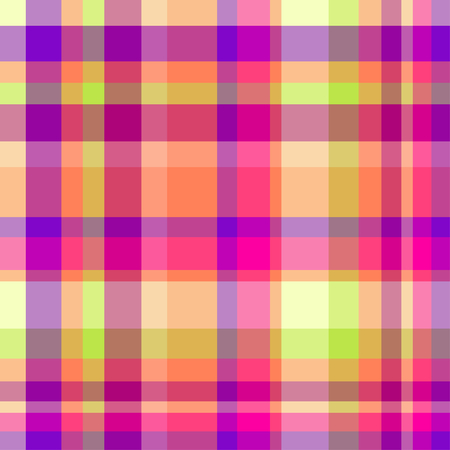 Colorful checkered pattern. Seamless abstract texture with many lines. Geometric colored wallpaper with stripes. Print for flyers, shirts and textiles. Doodle for design