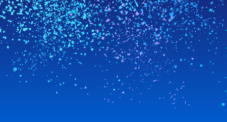 Confetti on isolated background. Luxury texture. Festive backdrop with glitters. Pattern for work. Print for polygraphy, posters, banners and textiles. Doodle for design and business