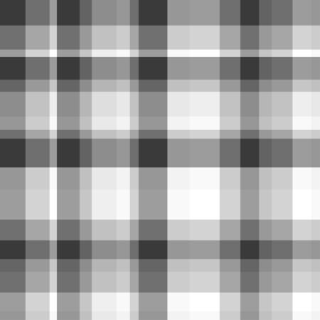 Seamless monochrome pattern. Checkered texture of the surface. Black and white illustration