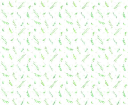 Seamless colorful pattern with dots and branches. Abstract background. Print for polygraphy, posters, shirts and textiles. Doodle for design 일러스트