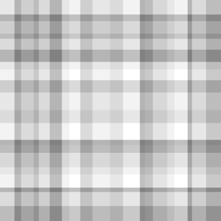 Seamless checkered multicolored pattern of the surface. Checkered texture. Black and white illustration Ilustrace