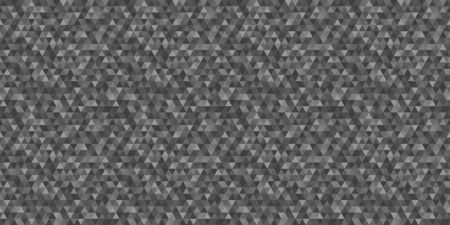 Seamless triangle pattern. Tiled background. Seamless geometric texture from triangles