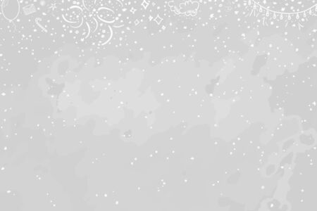 Hand drawn christmas background. Abstract xmas chalkboard. Happy holidays