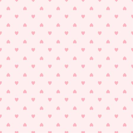Hand drawn holiday background with abstract hearts. Seamless light wallpaper. Pattern for design
