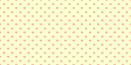 Hand drawn background with abstract hearts. Seamless light wallpaper on surface 일러스트