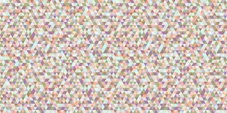Colorful pattern with triangles. Seamless geometric wallpaper of the surface. Abstract background. Print for posters, t-shirts and textiles