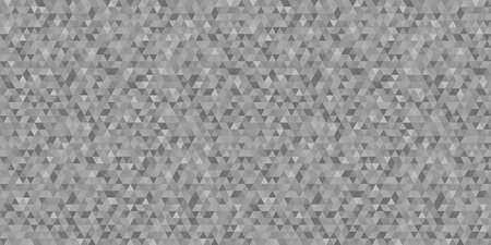 Pattern from triangles. Seamless abstract texture. Triangle background. Black and white wallpaper