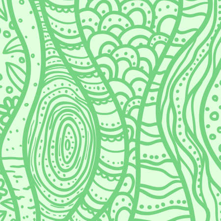 Colored wavy background. Abstract art. Hand drawn abstract curved waves. Pattern for your design