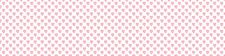 Hand drawn holiday background with hearts. Seamless pattern. Valentine's day. Print for polygraphy, posters, banners and textiles