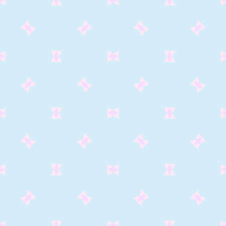 Seamless multicolored pattern. Abstract geometric wallpaper of the surface. Cute background. Pastel colors. Print for polygraphy, posters, t-shirts and textiles. Beautiful texture. Doodle for design 矢量图像