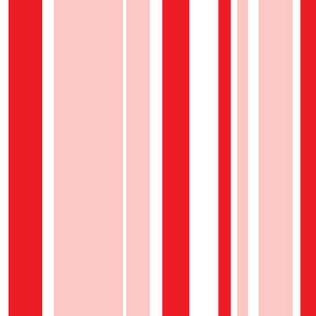 Striped pattern with stylish and bright colors. White and red stripes 向量圖像