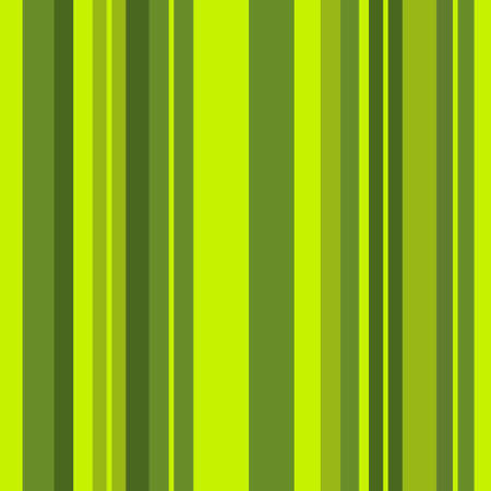 Striped pattern with stylish and bright colors. Green stripes. Seamless background for design in a vertical strip 向量圖像