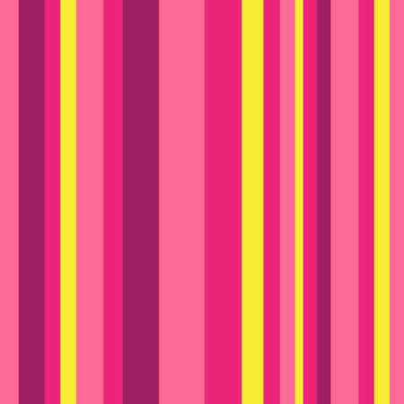 Striped pattern with stylish and bright colors. Pink and yellow stripes. Background for design in a vertical strip