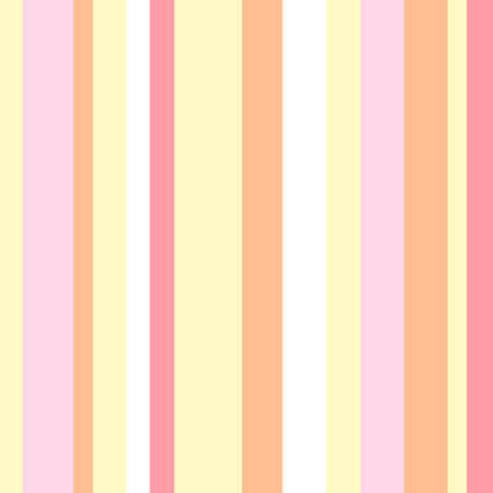 Striped pattern with stylish and bright colors. Pink, yellow and orange stripes. Background for design in a vertical strip 向量圖像