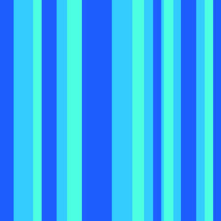 Striped pattern with bright colors. Blue stripes. 矢量图像