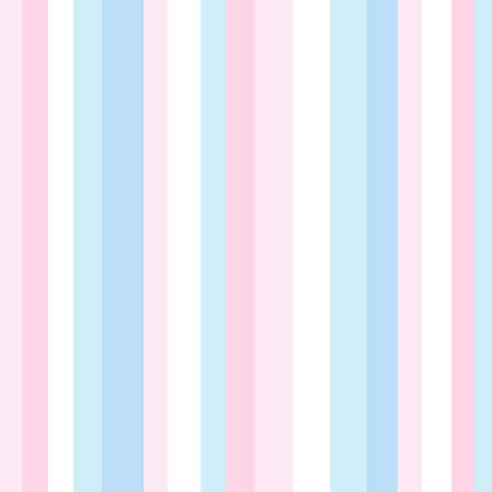 Striped pattern with stylish and bright colors. Pink, blue and white stripes. Background for design in a vertical strip