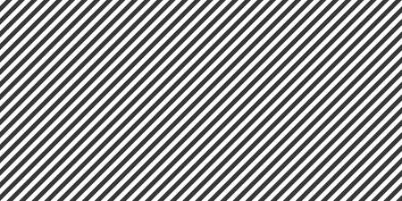 Seamless linear pattern. Abstract background with stripes. Web banner. Black and white illustration 矢量图像