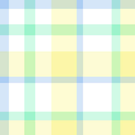 Seamless checkered texture. Abstract geometric pattern for design. Light colors. Print for shirts and textiles Ilustración de vector