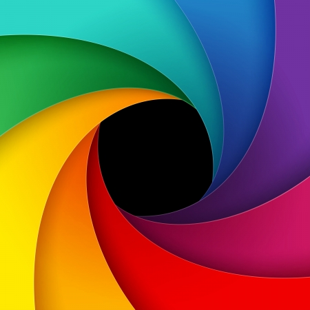 Swirly colorful paper background  RGB EPS 10 vector illustration Vector