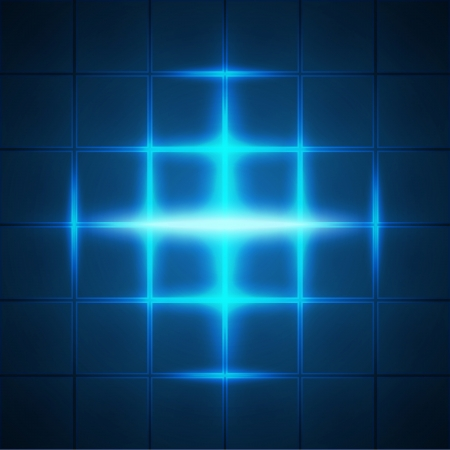 Blue glowing grid squares abstract background  RGB EPS 10 vector Vector