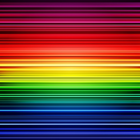 Abstract rainbow stripes colorful background.  Ilustração